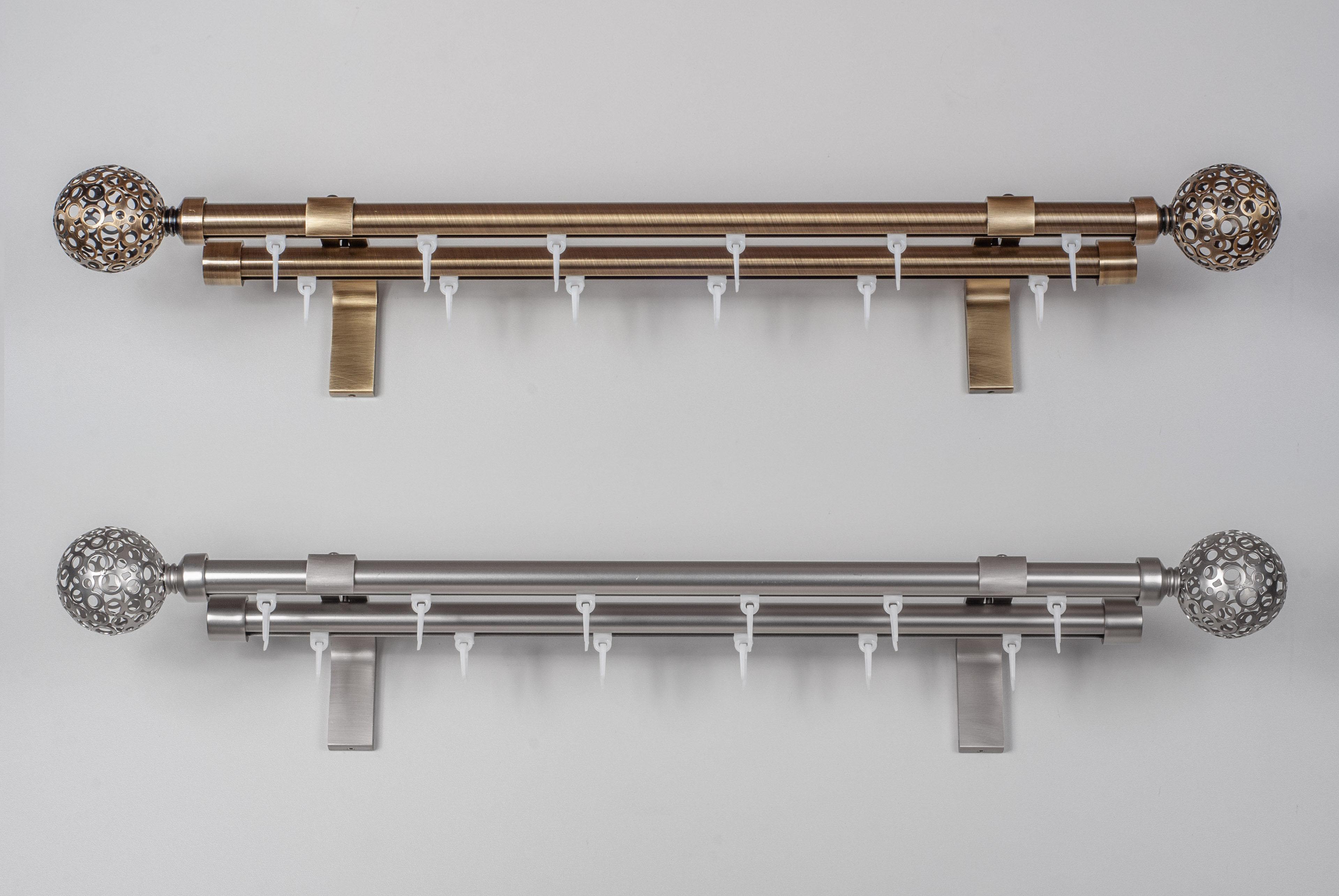 Карнизы металические ASPEN Ø19mm отдельными деталями