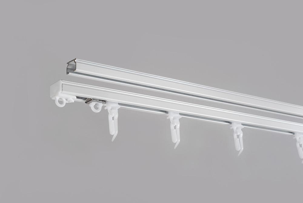 Система алюминиевого U-PROFILIS укомплектованные белого цвета 3