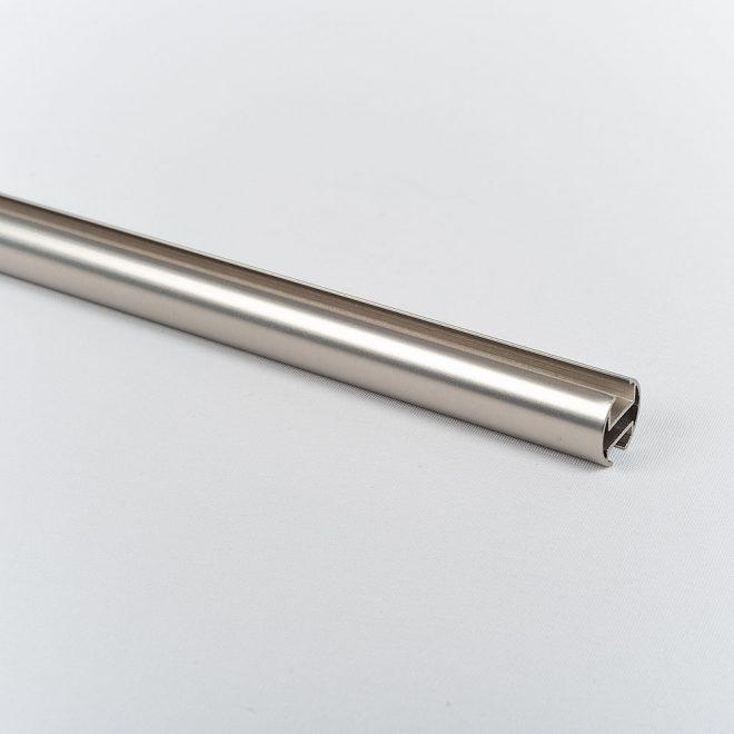 Profile for curtain rod ASPEN Ø19mm bright matte silver colour