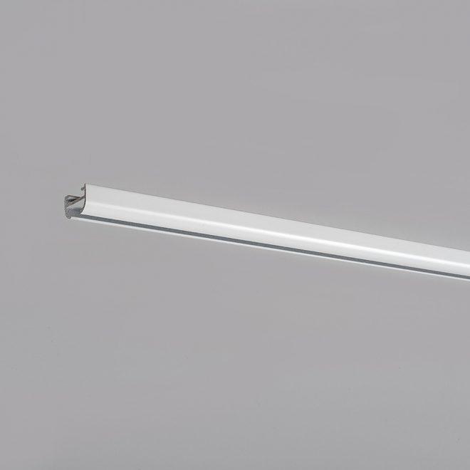 Aluminium system D-PROFILIS white colour