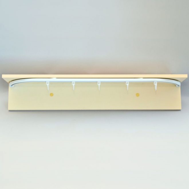 Aluminium system D-PROFILE sets white colour 1
