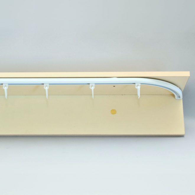 Aluminium system D-PROFILE sets white colour 2