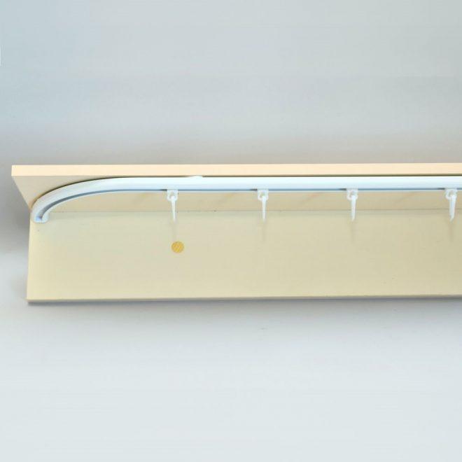Aluminium system D-PROFILE sets white colour 3