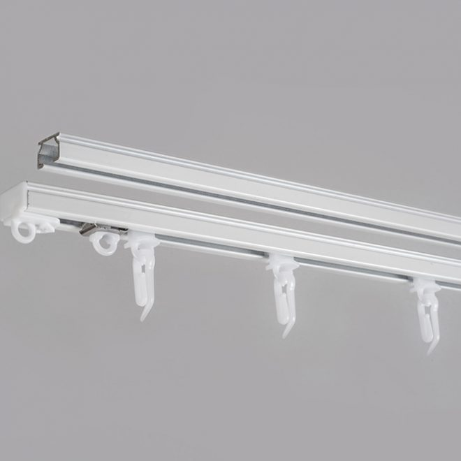 Aluminium system U-PROFILE sets white colour 3