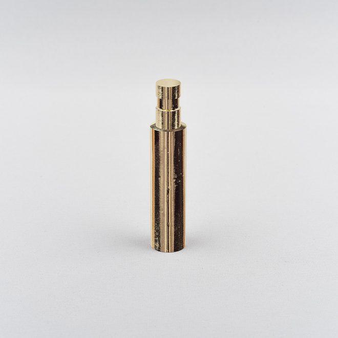 Lengthener of holder GRAL L4cm Ø16mm shiny gold colour.