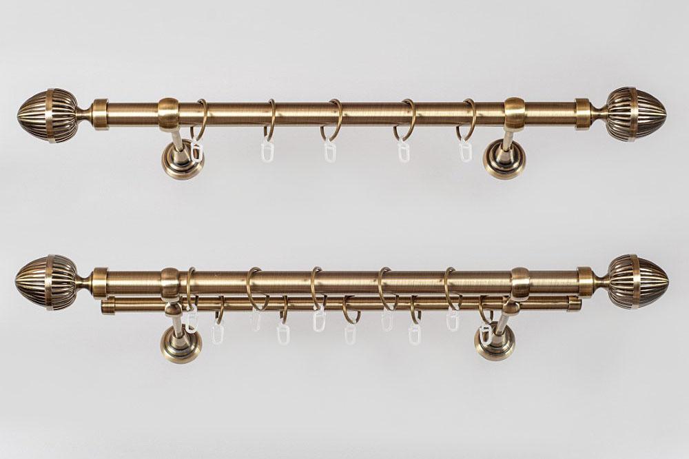 Metaliniai Ø19mm curtain rods sets ODE