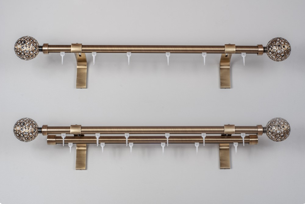 Metaliniai Ø19mm curtain rods sets ASPEN MONACO