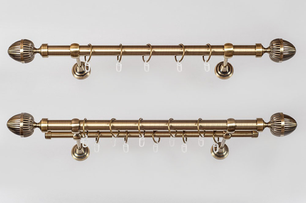 Metaliniai Ø19mm curtain rods sets ODE