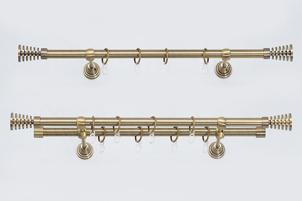 Metaliniai Ø19mm curtain rods sets WIEZA