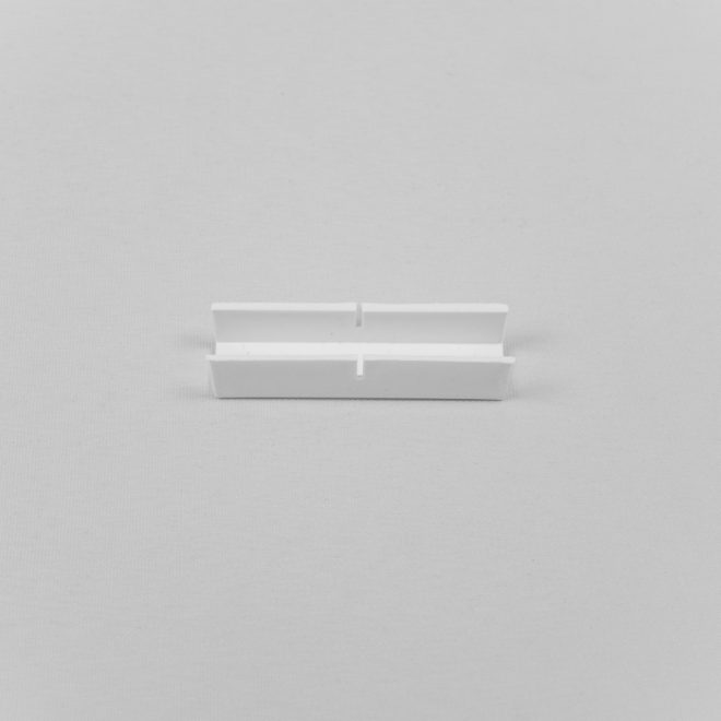 Linkage for ceiling mounted curtain rail white colour