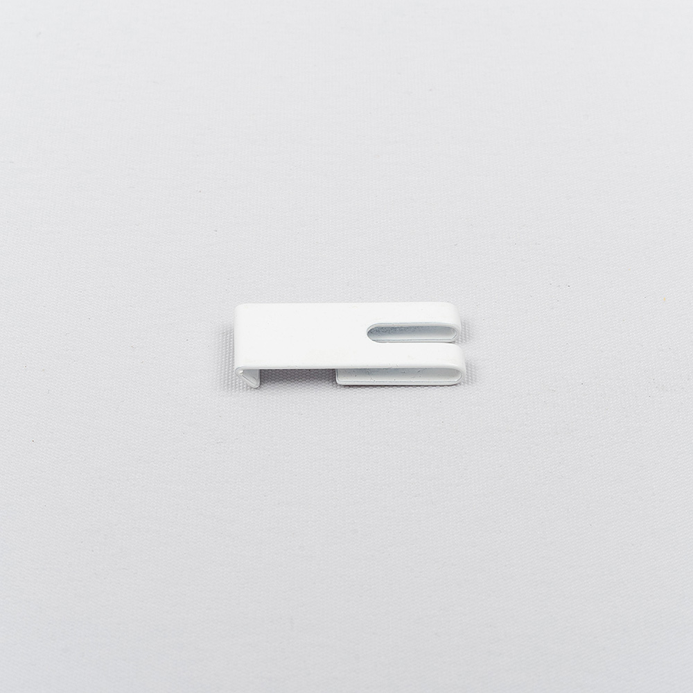 Metal holder for aluminium profile white colour Nr. TK 11095