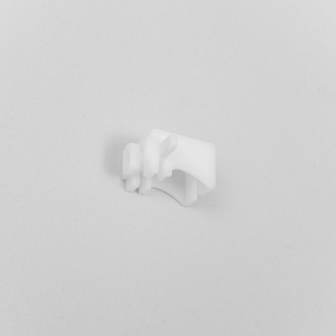 Holder for aluminium profile plastic L 3cm, white colour No. TK 4030