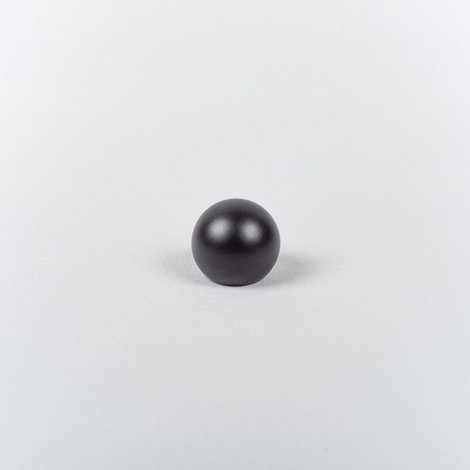 Ending for curtain rod KULA Ø16mm black colour.