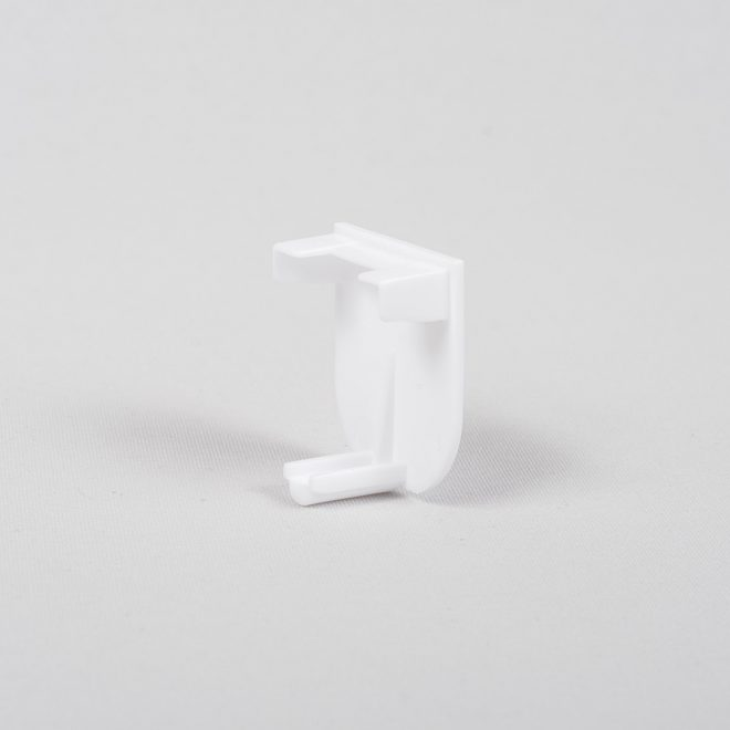 Universal ending for aluminium profile white colour No. 11.1016