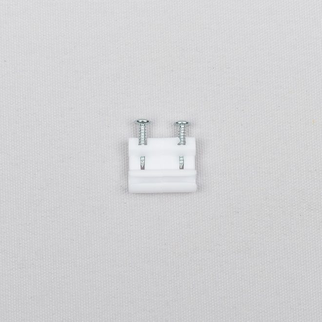 Cord connector plastic white colour Nr. 85