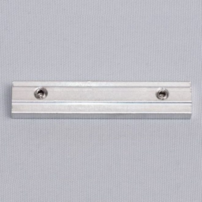 Metal connection for aluminium profile UNIVERSAL 1 and 2 rails, white colourNr. 52