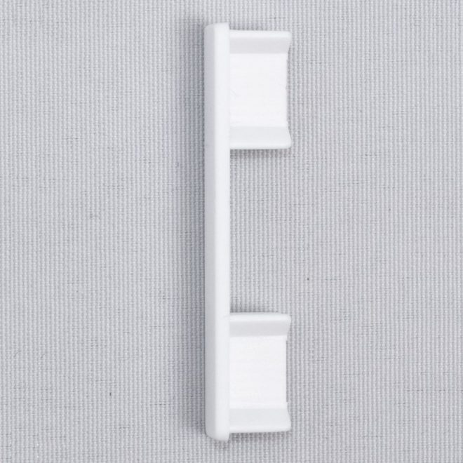 Plastic ending for aluminium profile UNIVERSAL 1 and 2 rails, white colourNr. 51