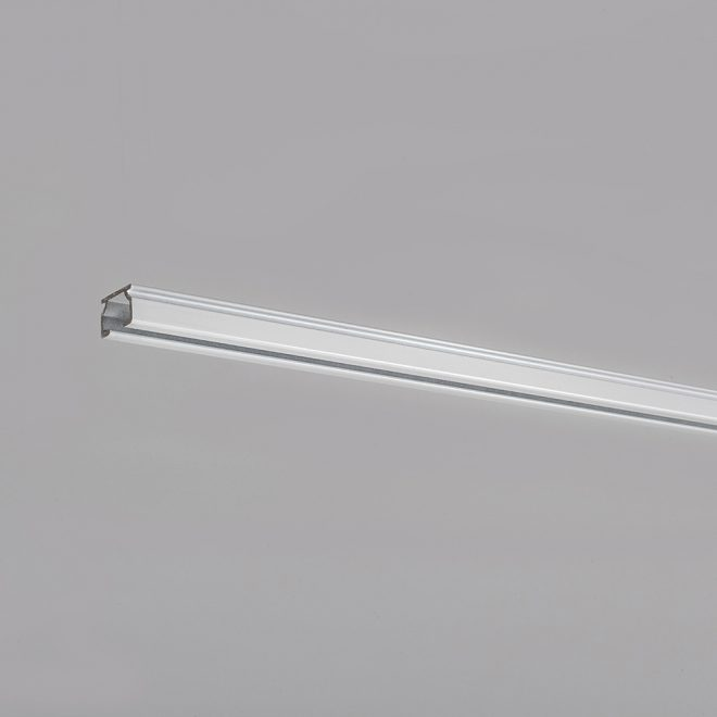 Aluminium profile U PROFILE white colour No. TK 11005