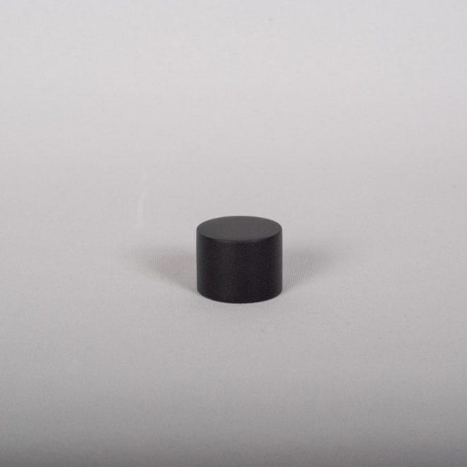 Ending for curtain rod FONDI Ø19mm matte black colour