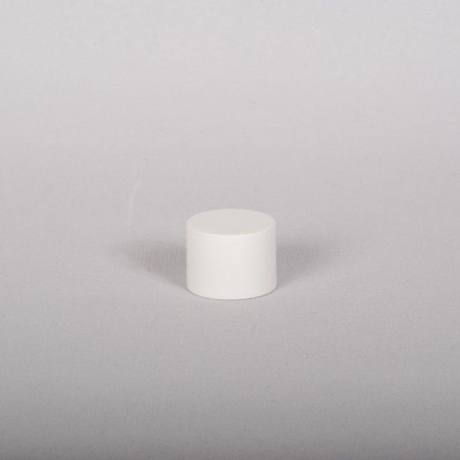 Ending for curtain rod FONDI Ø19mm matte white colour