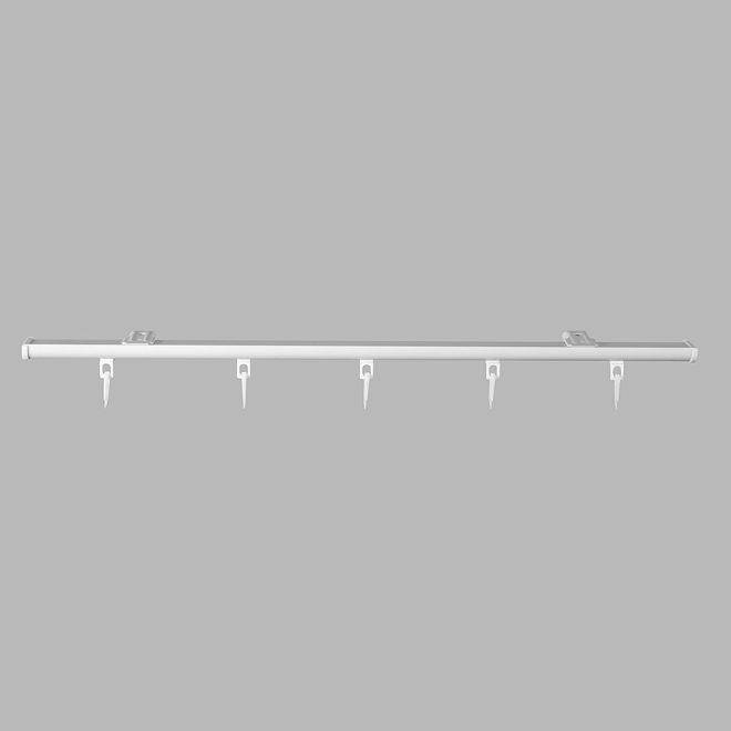 Aluminium system DS-PROFILIS set white colour No.200