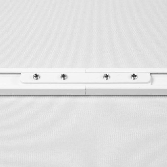 Linkage plastic for aluminium profile white colour No. 172