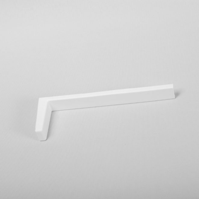Plastic cover L14cm for metal holder white colour No.14